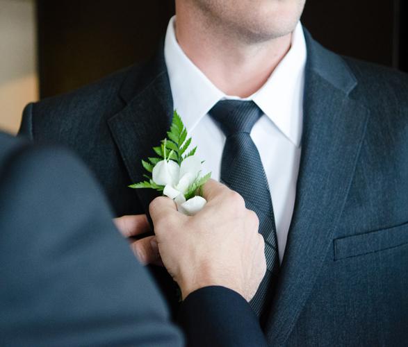 Für den Bräutigam